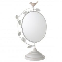 Miroir à poser oiseau H37.5 cm