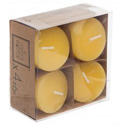 Lot de 4 bougies parfumées citronnelle