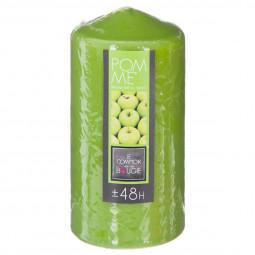 Bougie ronde parfumée pomme H.14