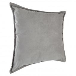 """Coussin gris clair """"Lilou"""" 45X45"""