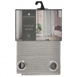 """Voilage gris clair """"Pia"""" 140X240"""