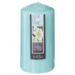 Bougie ronde parfumée fleur de tiaré H.14