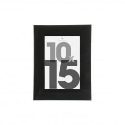 Cadre photo noir 10x15 cm