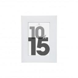 Cardre photo blanc 10x15 cm