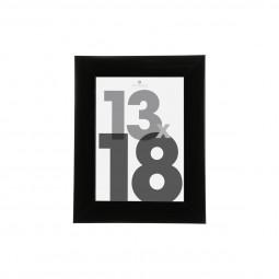 Cadre photo noir 13X18