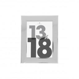 Cadre photo silver 13x18 cm