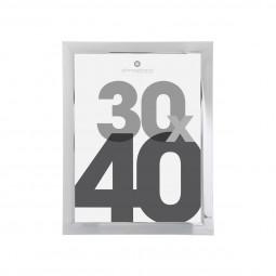 Cadre photo silver 30X40