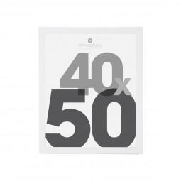 Cadre photo blanc 40X50