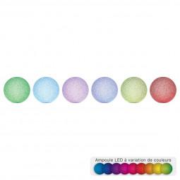 Boule LED effet cristal D15
