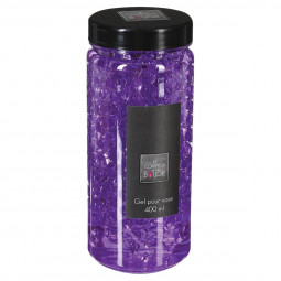 Gel crystal vase violet 400ML