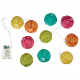Guirlande LED multicolore L120