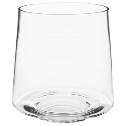 Vase trapèze verre D18XH18.5