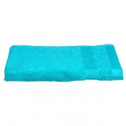 Serviette de bain turquoise 30X50