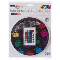 Ruban LED multicolore + télécommande 5M
