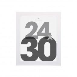 Cadre photo blanc 24X30 cm