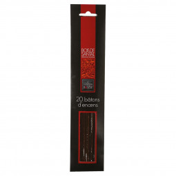 Bâton encens parfum bois santal X20