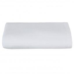 Serviette de toilette blanche 50x90 cm