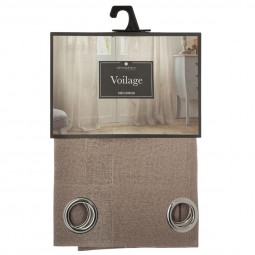 Voilage lin Neige 140X240