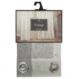 Voilage gris Joy 140 x 240 cm