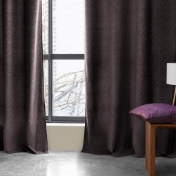 Rideau noir Mood 140 x 260 cm
