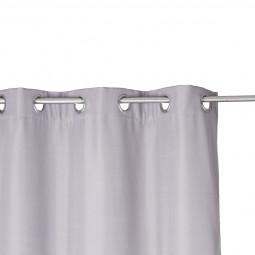 Rideau isolant gris 140X260