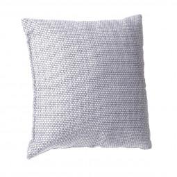 Coussin manu gris clair 40 x 40 cm