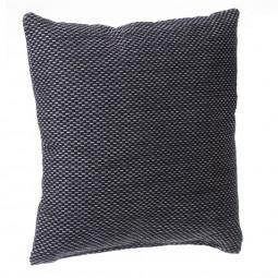 Coussin manu noir 40 x 40 cm