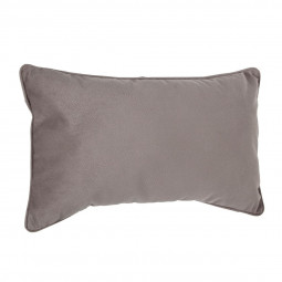 Coussin taupe Lilou 30 X 50 cm