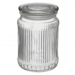 Bonbonnière en verre 14,5 cm