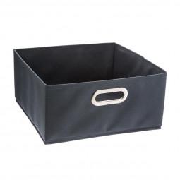 Boîte de rangement bleu orage 31 x 15