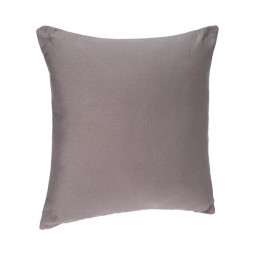 Coussin déhoussable gris 38x38