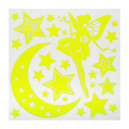 1 Planche sticker enfant phosphorescent