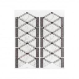 1 Planche sticker déco carreaux frise effet marbre