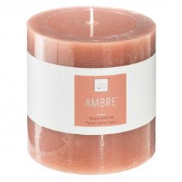 Bougie votive parfumée AMBRE ELEA 10 X 10 cm