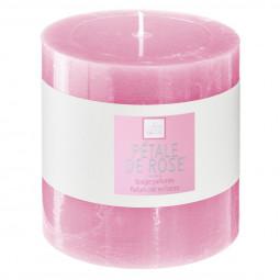 Bougie votive parfumée ROSE ELEA 10 X 10 cm
