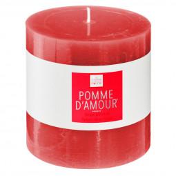 Bougie votive parfumée POMME D AMOUR ELEA 10 X 10 cm