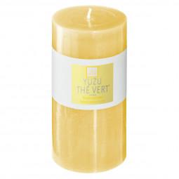 Bougie ronde parfumée YUZU THE VERT ELEA H 14 cm