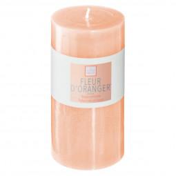 Bougie ronde parfumée FLEUR D ORANGER ELEA H 14 cm