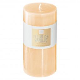 Bougie ronde parfumée FLEUR DE VANILLE ELEA H 14 cm