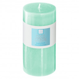 Bougie ronde parfumée COCO CITRON ELEA H 14 cm