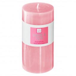 Bougie ronde parfumée BARBE A PAPA ELEA H 14 cm