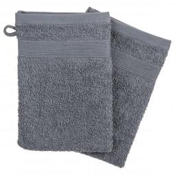 Lot de 2 gants gris foncés 15X21