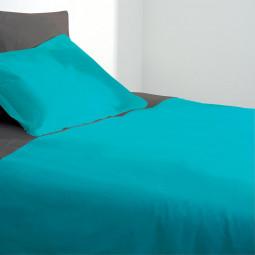 Housse de couette turquoise 240X260