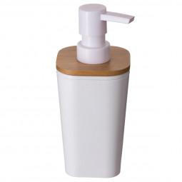 Distributeur à savon blanc Natureo