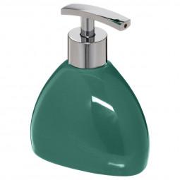 Distributeur à savon silk vert émeraude