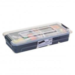 Boîte de rangement compartimentée 2,5 L samba