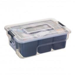 Boîte de rangement compartimentée 5 L samba