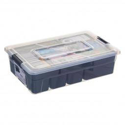 Boîte de rangement compartimentée 5,6 L samba