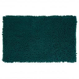 Tapis de bain maxi chenille 50 x 80 cm vert émeraude
