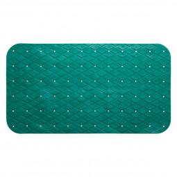 Fond de bain en pvc 69 x 39 cm vert émeraude
